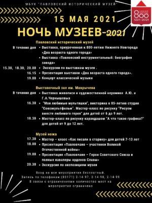Ночь Музеев - 2021